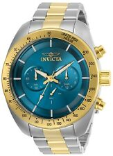 Invicta Men's Speedway 30035 48mm Blue Dial Chronograph Watch
