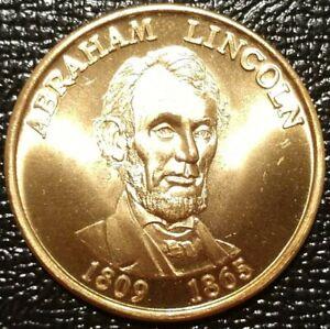 ABRAHAM LINCOLN 16TH PRESIDENT MEDAL PRESIDENTIAL SEAL COIN USA TOKEN ABE