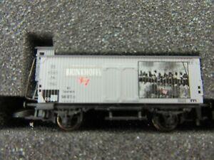 "Z - Marklin 98053 Special Edition Box Car / Brakeman's Cabin ""BRINKHOFF's - Tin"