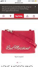 Love Moschino Womens Love Moschino Cross-Body Bag Pink (Fuchsia)