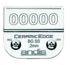 """Andis CeramicEdge 00000 Clipper Blade #64730  1/125""""  0.2mm (Size #00000)"""