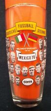 ORIG. vidrio WM méxico 1970-el equipo alemán/todos los jugadores + autógrafos
