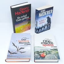 GEORG HADERER Qualen Ohnmachtspiele Der bessere Mensch Es wirdTote geben 4x Buch