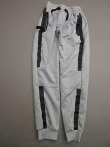 VITAMINS SIZE XL(14) BOYS GRAY/BLACK ATHLETIC SIDE POCKETS JOGGER PANTS T450