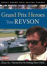 Peter Revson - Grand Prix Heroes (New DVD) Narrated by Sir Stirling Moss
