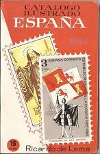 1966 Catalogo Ilustrado sellos España - Ricardo de Lama -CURIOSIDAD