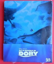 film blu ray disc 3D+2D steelbook alla ricerca di dory finding dory metal box gq