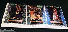 1992-93 Stadium Club BEAM TEAM 3 Card Sheet UNCUT  R.Miller Rice Hornacek BERKS