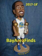 Golden State Warriors Kevin Durant Finals MVP Bobblehead SGA 10/13/2017 Bobble