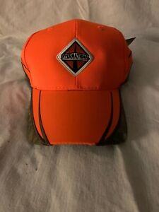 International Trucks Deer Hunting Blaze Orange Camouflage Realtree Cap Hat NEW