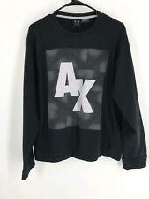 Armani exchange Mens XXL Sweater Black Pullover