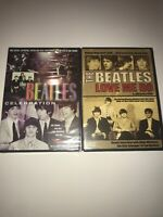 LOT OF 2 THE BEATLES RARE FOOTAGE DVD BRAND NEW SEALED COLLECTION TOUR LIVE