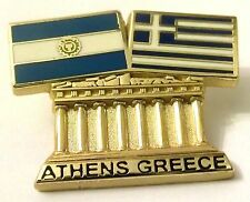 Pin Spilla Olimpiadi Athens 2004 Greece/Argentina Flags