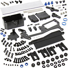 AE Team Associated 1/8 RC8B3.1 4WD * RADIO & BATTERY TRAY, RECEIVER BOX *Linkage