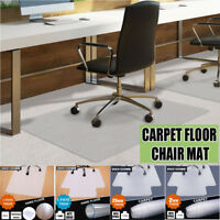 Heavy Duty Clear Floor Protector Mat Computer Home Office Desk Rolling Chair USA