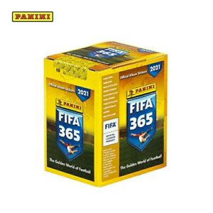 PANINI 20/21 FIFA 365 STICKER COLLECTION 50 PACKS IN SEALED BOX