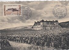 FRANCE 1951 FDC CHATEAU DU CLOS DE VOUGEOT YT 913