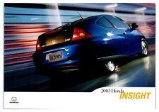2003 Honda Insight Hybrid Postcard *5C