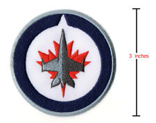 Winnipeg Jets Team Logo Embroidered Patch