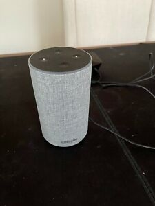 Amazon Echo (2nd Generation) Smart Speaker with Alexa - Heather Gray Fabric