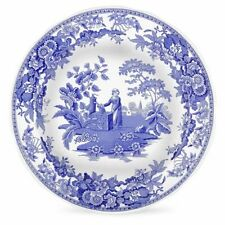 Spode Blue Room Georgian Dresser Plate - Girl at Well