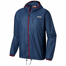 Columbia Men's Lash Point™ Jacket- Mens- Size: Small- Blue Sun Protection Jacket