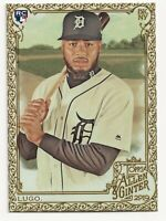 DAWEL LUGO 2019 Topps Allen and Ginter Gold Border Tigers (#208) Rookie RC