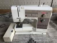 RICCAR Bernina Holiday 1240 Swiss Computer Sewing Machine 90w Motor TESTED #L04