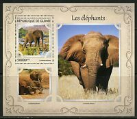 GUINEA 2017 ELEPHANTS SOUVENIR  SHEET MINT NH