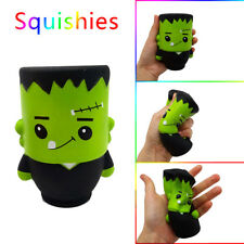 Cute Halloween Frankenstein Relax Slow Rising Charms Stress Relief Toy Gift