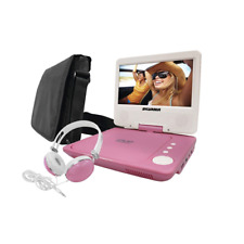 "Sylvania 7"" Swivel-Screen Portable Dvd Player Sdvd7060-Pnk"