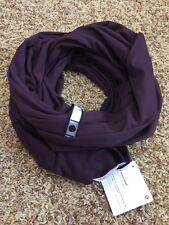 NWT Lululemon Vinyasa Scarf Black Cherry BCHR READ INTL SHIP