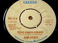 "Gene Pitney-Trans Canada Highway 7"" Vinilo"