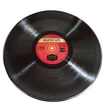 "12"" Retro Style Plastic Record -  Melamine Plate"