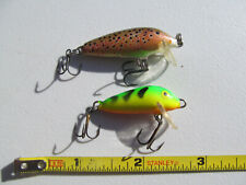 RAPALA Sinking Countdown CD-3 --- D.A.M. Floating Fly Rod Size Fishing Lures