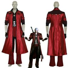Devil May Cry IV 4 Dante Cosplay Costume Custom Made Full Set