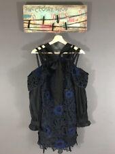 Authentic SELF-PORTRAIT Floral Lace Dress Mini Dress Sz US 2 UK 6 $545 NWT