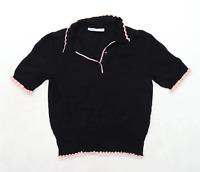 Oasis Womens Size M Black Top (Regular)