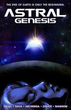 ASTRAL GENESIS (softcover graphic novel): Sci-fi action adventure - Ariel Medel!