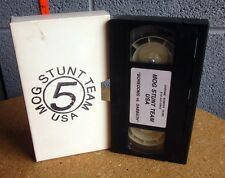 MOG STUNT TEAM Boredoms vs. Sabbath VHS video 1996 metal Detroit