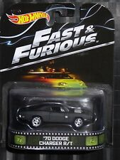 2014 HOTWHEELS - Retro entertainment D - FAST & FURIOUS - '70 Dodge Charger R/T