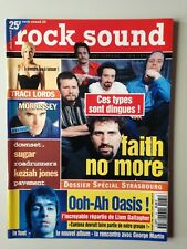 ROCK SOUND N°25 1995 FAITH NO MORE - OASIS