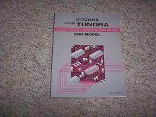 2005 Toyota Tundra Truck Electrical Wiring Diagram Manual SR5 LTD Limited 4WD