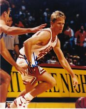 STEVE KERR  CHICAGO BULLS    ACTION SIGNED 8x10