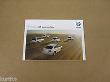 2013 Volkswagen VW All Models Accessories Beetle Golf GTI Tiguan sales brochure