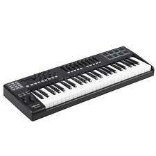 PANDA49 49-Key USB MIDI Keyboard Controller 8 Drum Pads with USB Cable W0N8