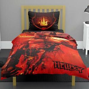 Hellboy Legendary Polycotton Duvet Quilt Cover and Pillowcase Bedding Set