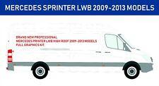 Brand New Mercedes Sprinter Full Custom Van Vinyl Graphics Kit 2008-2013