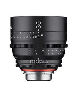 XEEN 35mm T1.5 Wide Angle Pro Cinema Lens (Nikon F)