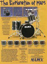 1998 Print Ad of Mapex Mars Pro SE Drum Kit